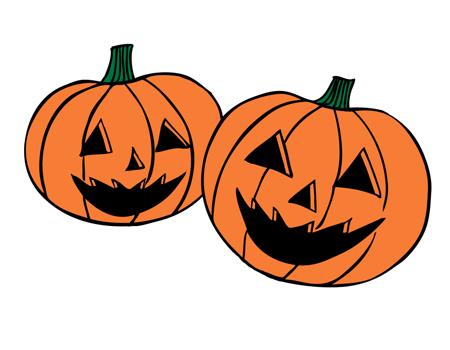 ハロウィンかぼちゃ無料イラスト