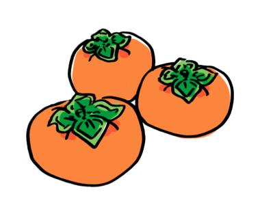 柿のイラスト2