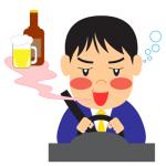 飲酒運転酔っぱらい運転イラスト