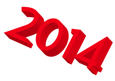 2014立体文字