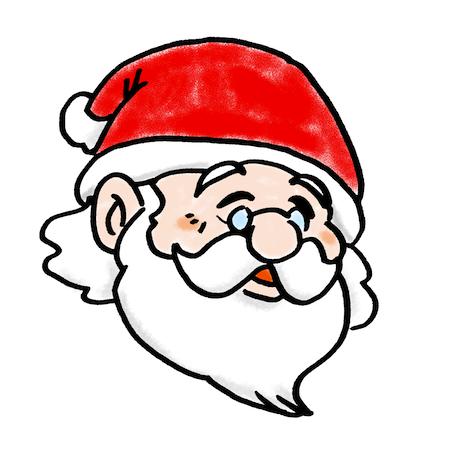 サンタクロースおじいさん
