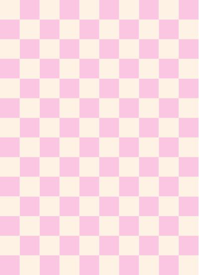 市松模様ピンク