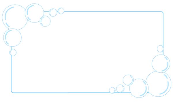しゃぼん玉バブル枠フレーム