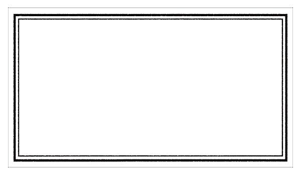 アンティーク風ラベルフレーム枠3