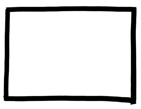 マーカーペン枠フレーム素材黒