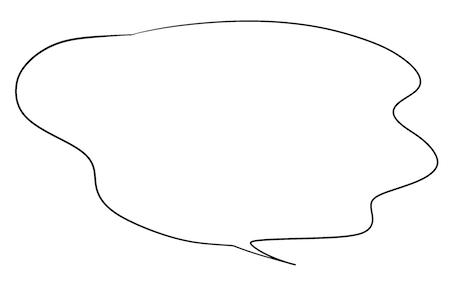 不安なセリフに合う漫画吹き出しイラスト