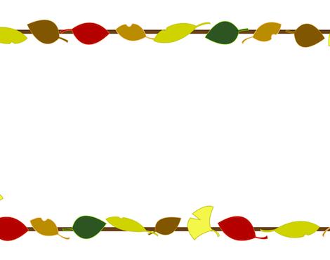 落ち葉木の葉枠フレーム素材
