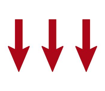 3本の矢印