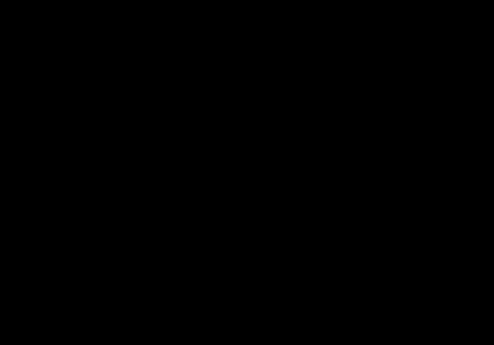 【リボン】手書きイラストフレーム枠