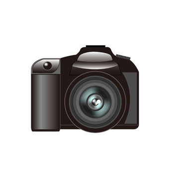 デジタル一眼レフカメラ無料イラスト素材