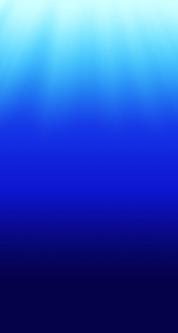 美しい深海のイラスト
