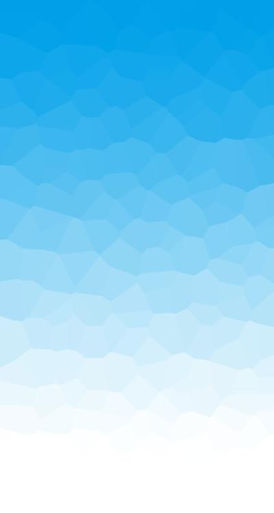 多角面ブルー