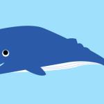 無料クジライラスト