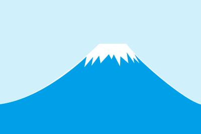 青色富士山fujisan