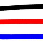マーカーペンのアンダーライン線