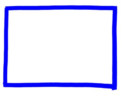マーカーペン枠フレーム素材青