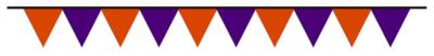 ハロウィン三角旗フラッグ無料