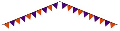 ハロウィン三角旗フラッグ無料3