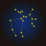 射手座Sagittarius夏の星座イラスト
